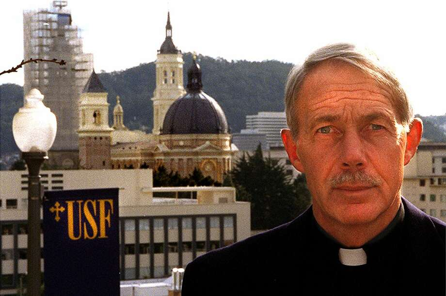 The Rev. John Schlegel raised the profile of USF during his tenure as president. Photo: John O'Hara, SFC