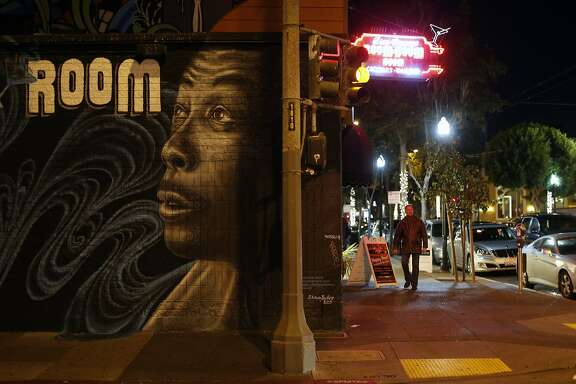 Boom Boom Room on Fillmore Street in San Francisco., Calif., on Wednesday, November 25, 2015.