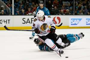Sharks, after perfect trip, lose to Chicago in San Jose - Photo