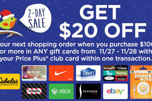 ShopRite: Spend $100 on gift cards, get $20 off groceries (Friday-Saturday) - Photo