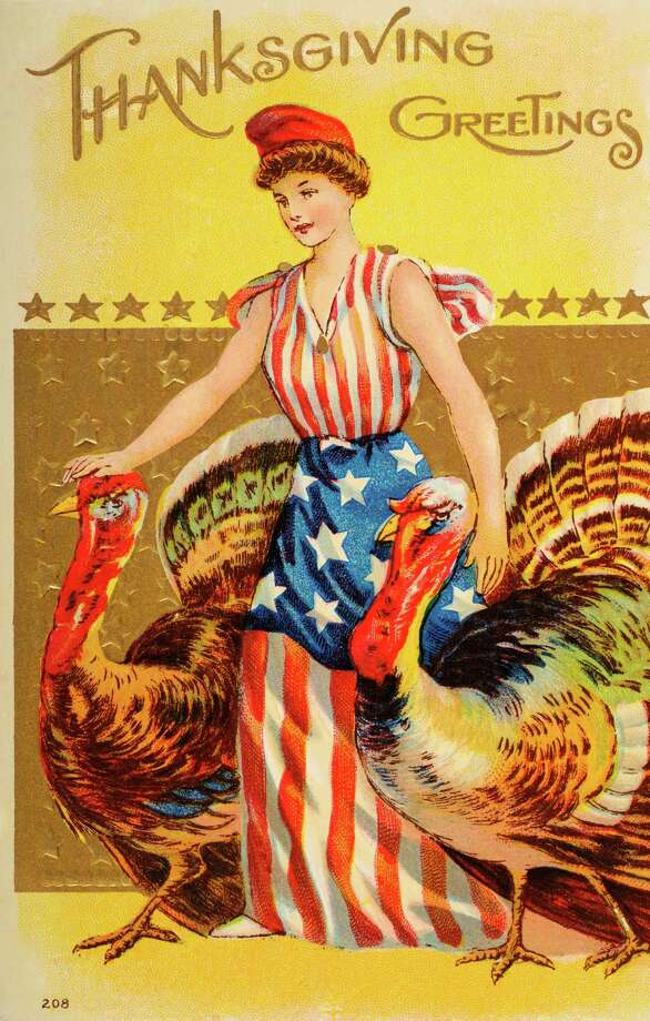 We suspect this Lady Liberty will not be liberating any turkeys today. (circa 1908) Photo: Popperfoto, Getty Images / Popperfoto