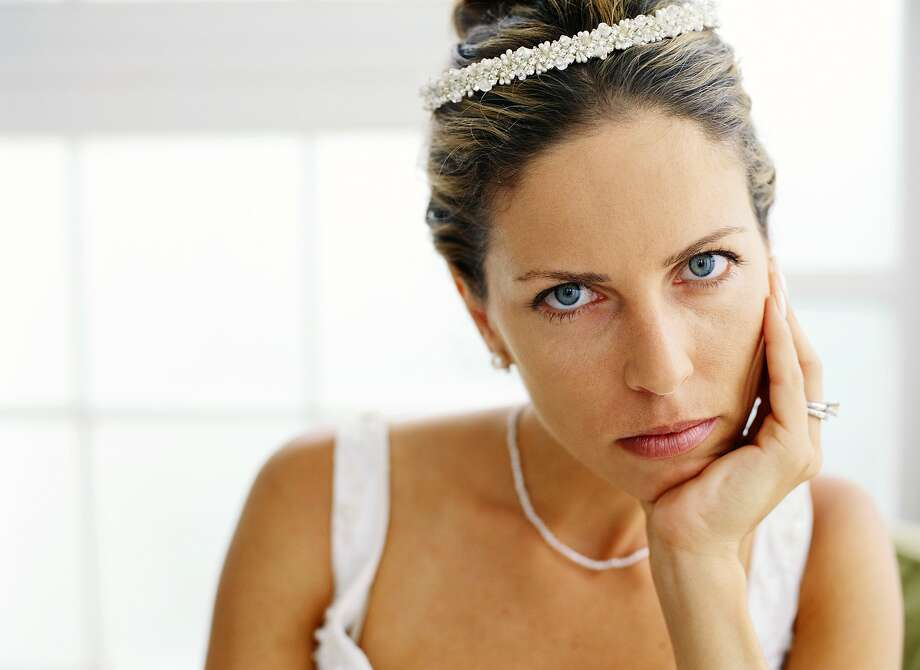 A woman isn't sure she want to get married anymore. Photo: Stockbyte