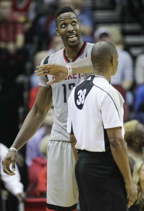Rockets center Dwight Howard announced Friday that he's parted ways with his longtime agent. Photo: Houston Chronicle