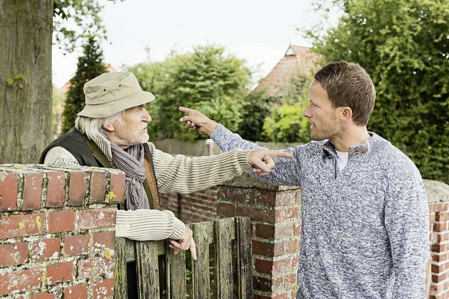 A neighbor wonders if he should tattle on his neighbor. Photo: Nils Hendrik Mueller