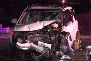 Four people hospitalized following major head-on collision on the Northeast Side - Photo