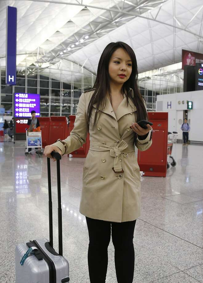 Anastasia Lin is a follower of the outlawed Falun Gong group. Photo: Kin Cheung, Associated Press