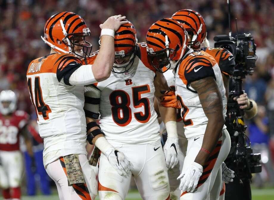 St. Louis plus 8 at Cincinnati  Bengals 30-17 Photo: Ross D. Franklin, Associated Press