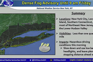 Dense fog advisory this morning - Photo