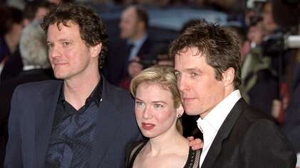 Colin Firth, Rene Zellweger and Hugh Grant during 'Bridget Jones's Diary' UK Premiere at Empire London in London, Great Britain on April 04, 2001.
