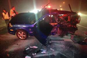 Driver seriously hurt in I-95 crash - Photo