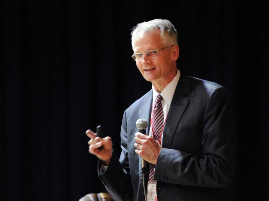 Superintendent of Schools William McKersie Photo: Bob Luckey Jr. / Hearst Connecticut Media / Greenwich Time