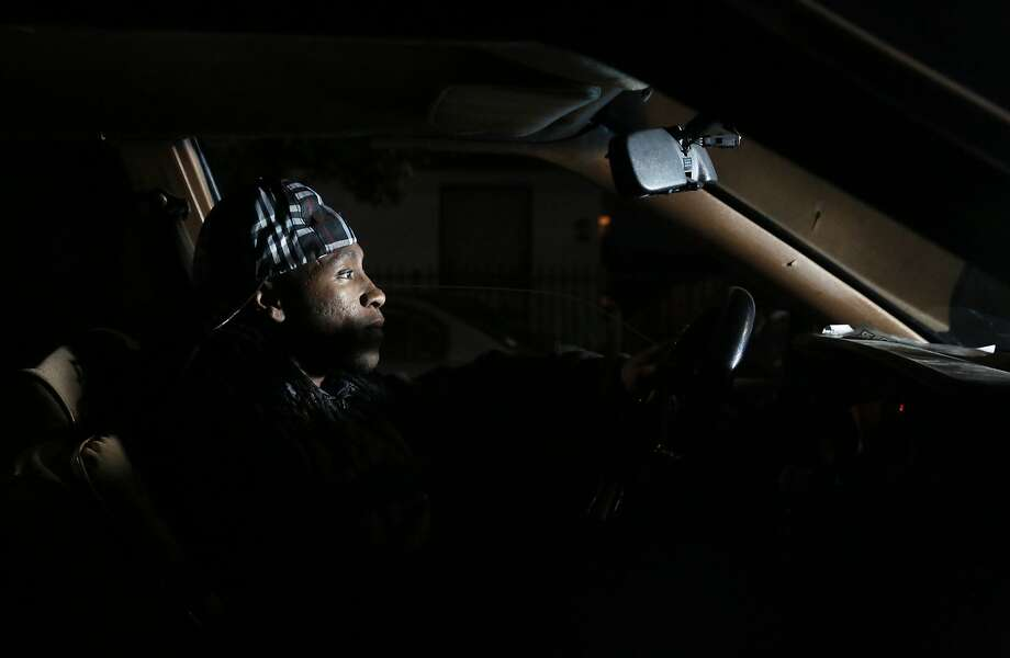 Treyvon Coulter, 22, of East Oakland says he has been pulled over several times in recent years. Photo: Leah Millis, The Chronicle