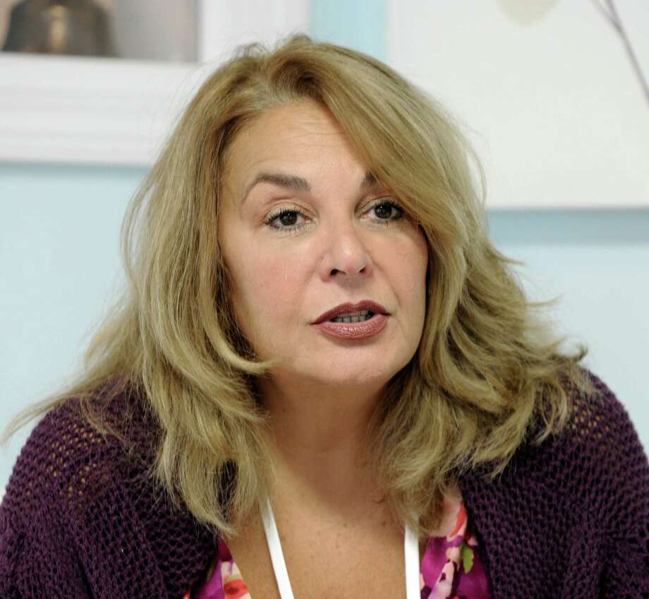 Angela D'Amico of Trumbull, Coon, owner of the Compassionalte Care Center in Bethel, Conn, talks about the medical marijuana dispensary Thursday, Sept. 11, 2014. Photo: Carol Kaliff / File Photo / The News-Times