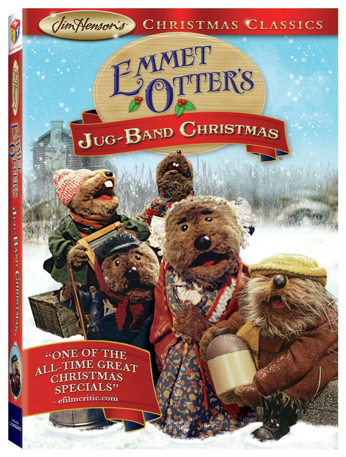 Emmet Otter's Jug-Band Christmas DVD package