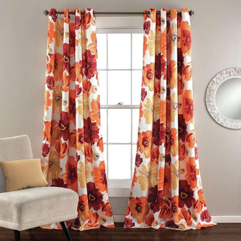 Lush Decor Leah 2-pk. Room-Darkening Curtains - 52'' x 84''