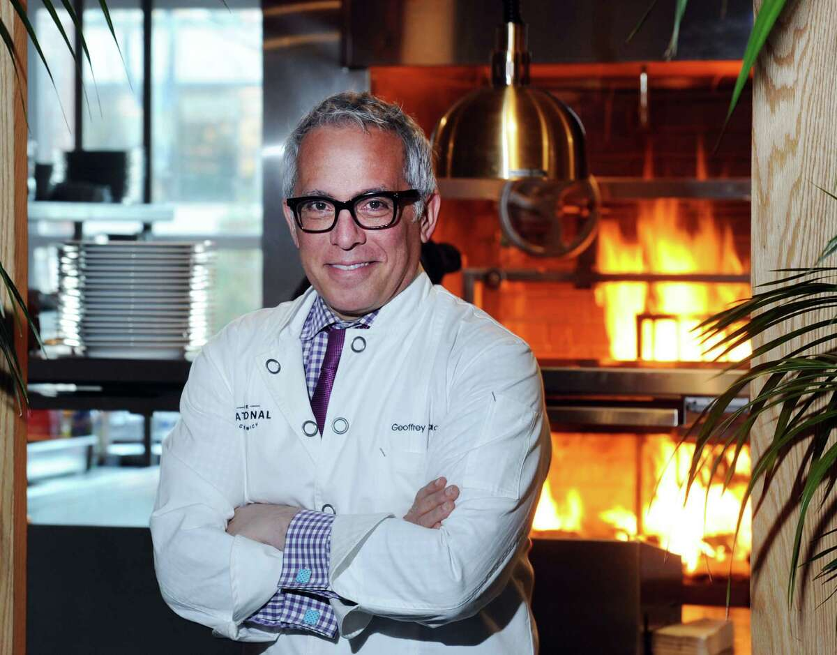Chef Geoffrey Zakarian in the kitchen of his new Greenwich restaurant, The National, at 376 Greenwich Ave on Friday, Nov. 20.
