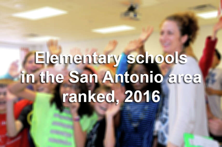 Scroll through the slideshow to see the top 100 elementary schools in the San Antonio area, according to education analyst group Niche.
