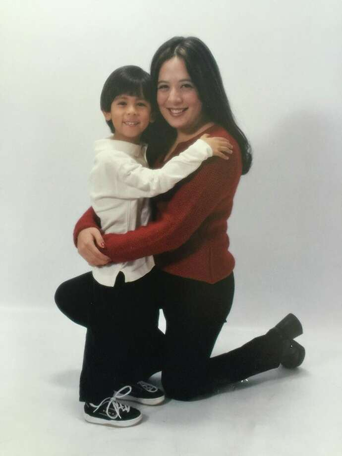 Stephanie Teague and her son Ben who she allowed to be adopted (Photo: Stephanie Teague)