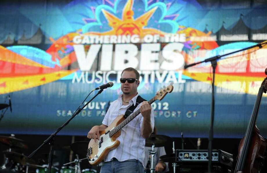 The Ryan Montbleau Band performs during the Gathering of the Vibes at Seaside Park in Bridgeport, Conn. Saturday, July 21, 2012. Ken Hayes, founder and promoter of The Gathering of the Vibes, posted on the event's web site that after 20 years, the event would not be coming to Bridgeport in 2016. Photo: Autumn Driscoll, File Photo / Connecticut Post freelance