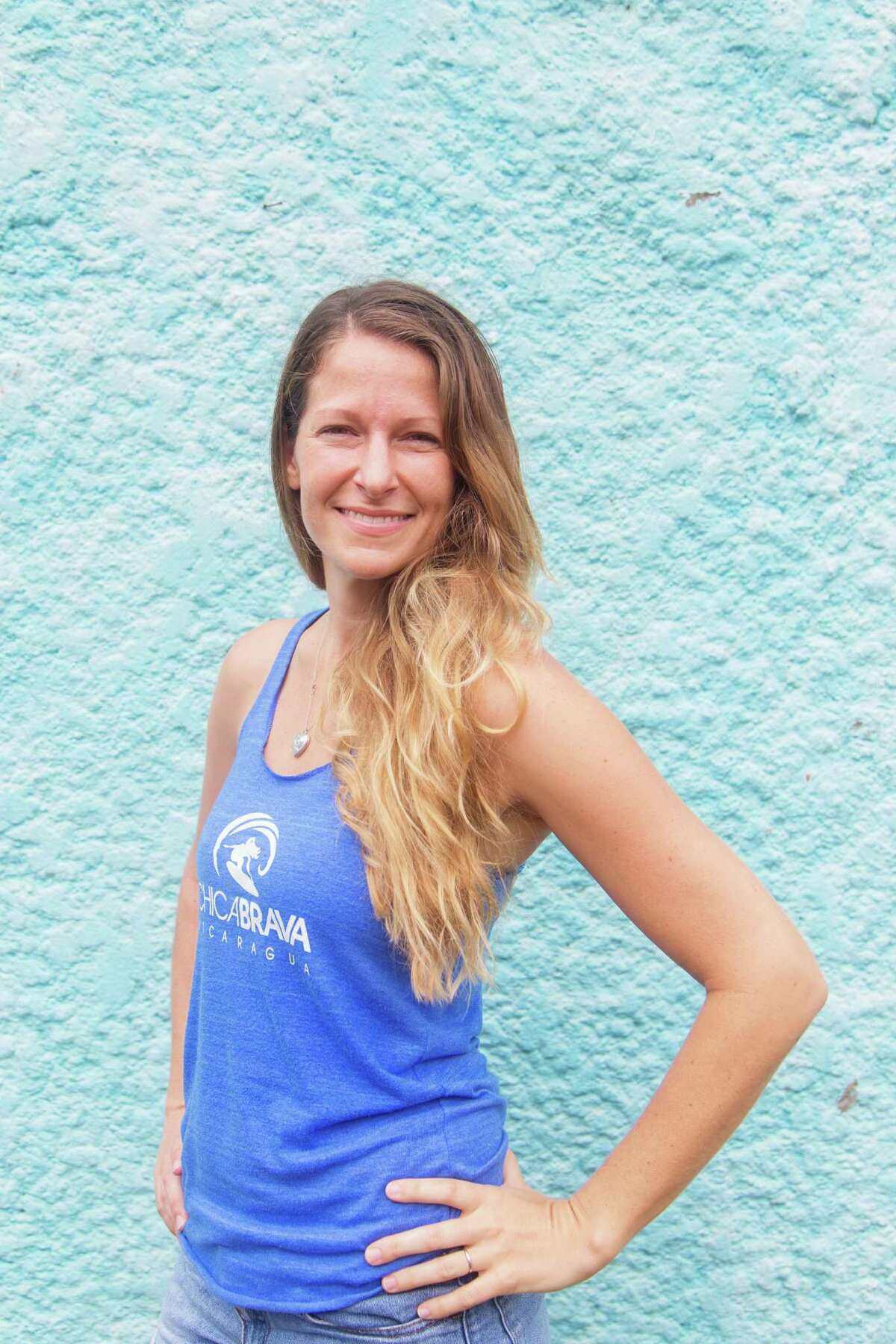 Houston native Ashley Blaylock visited Nicaragua on a surfing vacation. She ended up staying, starting Chicabrava, a surfing camp for women.