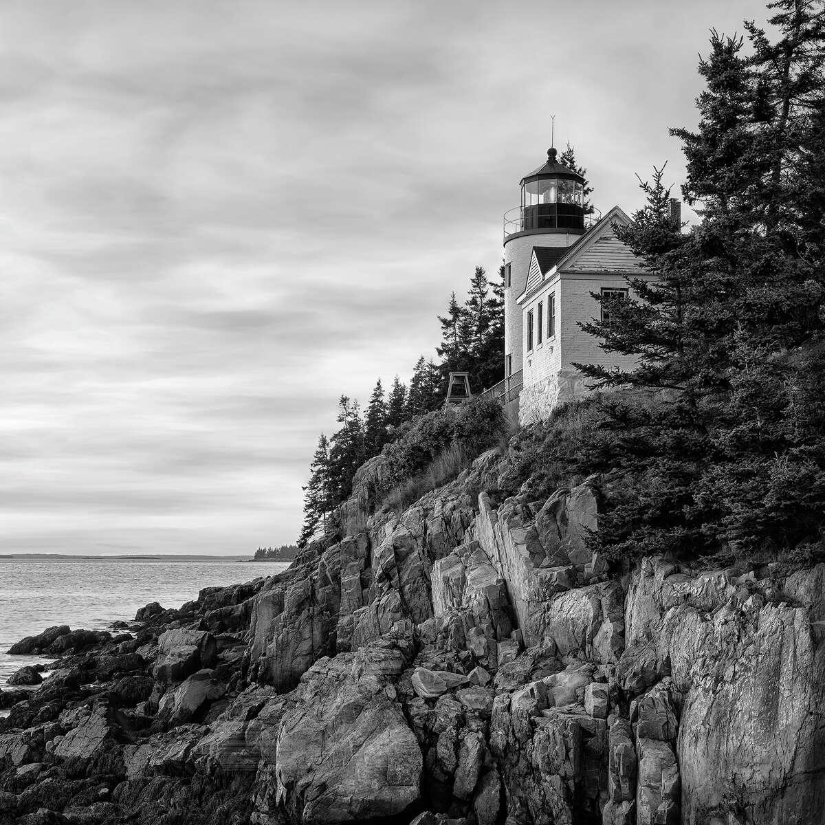 Bass Harbor lighthouse, Acadia National Park, Maine.