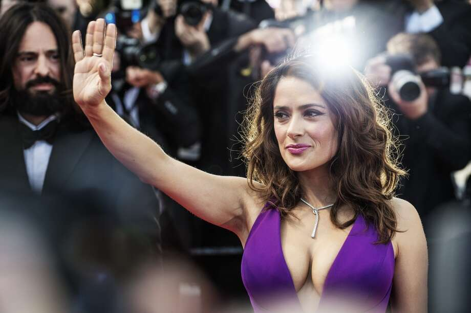 Salma Hayek Pinault during the 68th annual Cannes Film Festival on May 17, 2015 in Cannes, France. 
