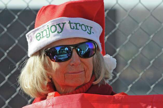 Grace Crary attends a Troy is open for business holiday ceremony on Wednesday Nov. 25, 2015 in Troy, N.Y. (Michael P. Farrell/Times Union) Photo: Michael P. Farrell