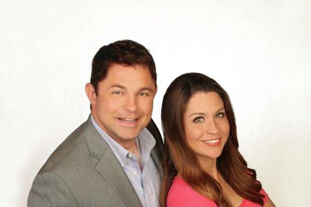 Fiona Gorostiza and Jeff Roper, co-hosts of the new  'SA Live' on KSAT.