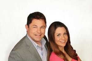 Fiona Gorostiza and Jeff Roper, co-hosts of the new  'SA Live' on KSAT.