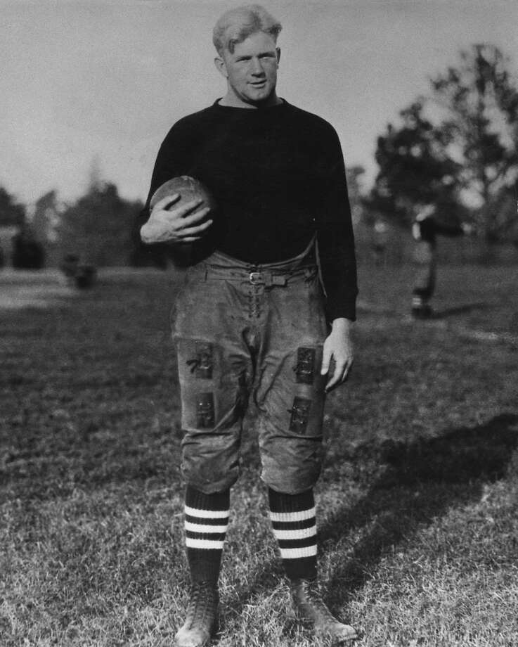 Stanford great Ernie Nevers had one of the best games of his career against Notre Dame in the Jan. 1, 1925, Rose Bowl - a game the Irish won. Photo: Stanford University