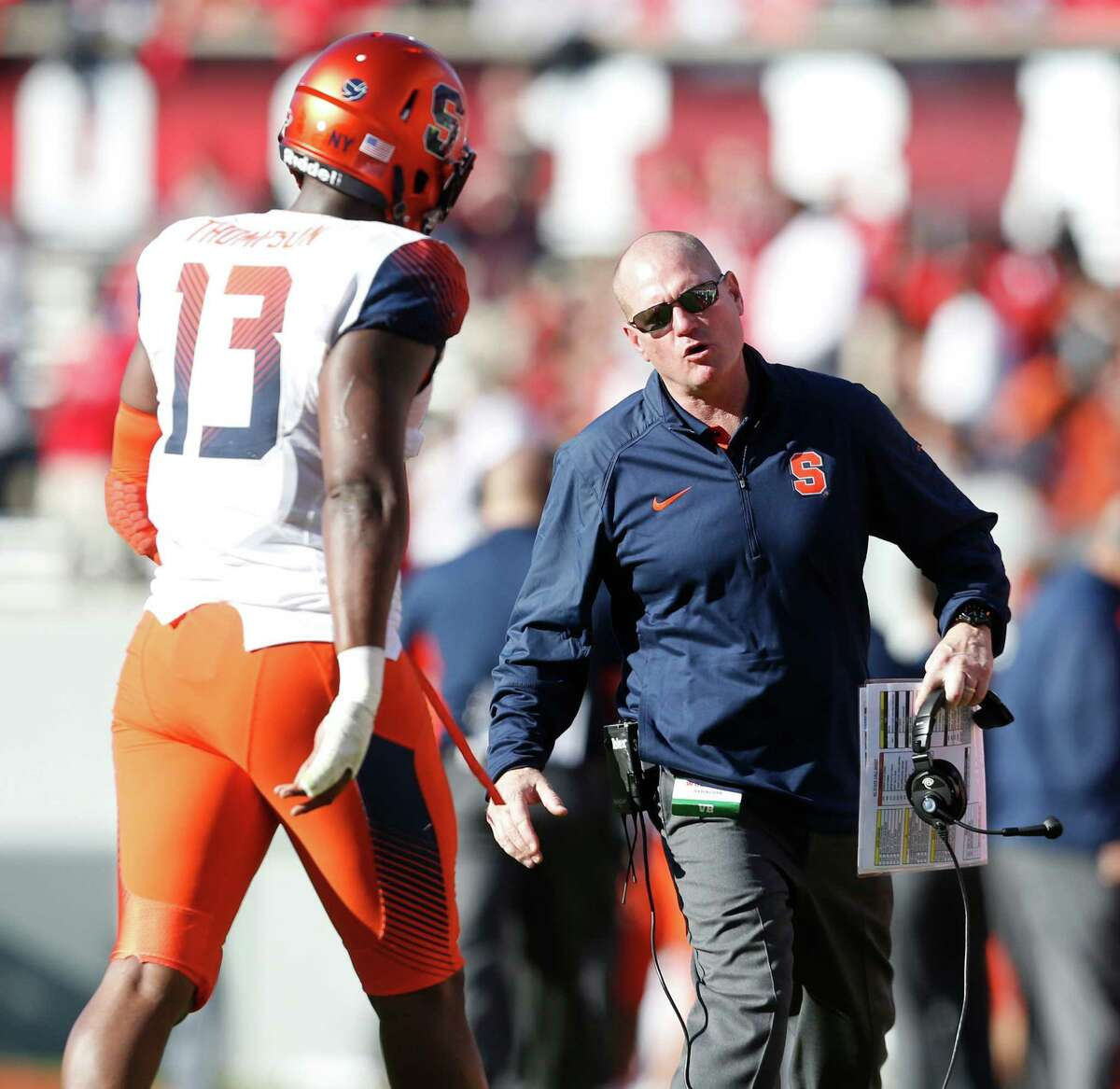 Syracuse What job in the ACC is worse than this one? Wake Forest? Maybe, and that would be it. Someone like LSU assistant EdOrgeron, who was a Syracuse assistant in the 1990s might be a fit here.