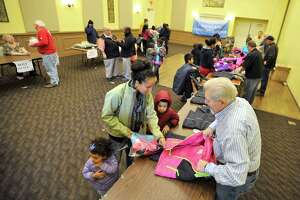 Stamford Knights of Columbus give kids free coats - Photo