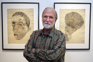 Dennis Olsen had more than 160 exhibitions over 40 years. - Photo
