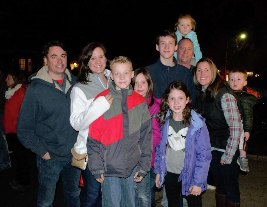 Were you SEEN at the Ridgefield tree lighting on November 27, 2015? Photo: Amanda Brown