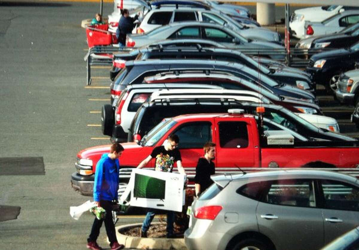 2. Aggressive or thoughtless driving in shopping centers: 55 percent