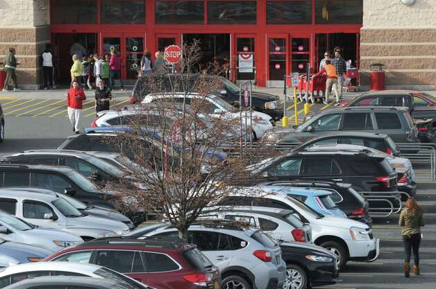 Shoppers take advantage of sales at Target during Black Friday on Friday Nov. 27, 2015 in East Greenbush N.Y. (Michael P. Farrell/Times Union) Photo: Michael P. Farrell / 10034438A