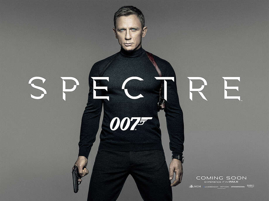 """Spectre"" is the 24th and latest movie featuring the adventures of James Bond as Agent 007. Photo: Contributed / Contributed Photo / Westport News"