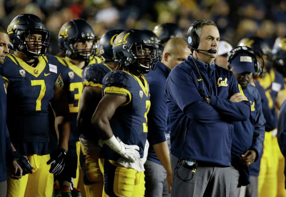 California head coach Sonny Dykes during the second half of an NCAA college football game against Oregon State Saturday, Nov. 14, 2015, in Berkeley, Calif. (AP Photo/Eric Risberg) Photo: Eric Risberg / Associated Press / AP
