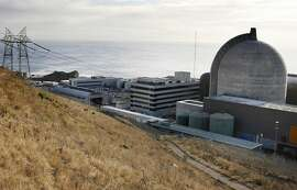 ADVANCE FOR  USE SUNDAY, NOV. 29 - FILE - This Nov. 3, 2008, file photo, shows one of Pacific Gas and Electric's Diablo Canyon Power Plant's nuclear reactors in Avila Beach on California's central coast. Without new operating licenses, the plant can't run past 2025. Renewing a nuclear power license is a lengthy proposition, and so even with years to go it's fast becoming a late hour. (AP Photo/Michael A. Mariant, File)