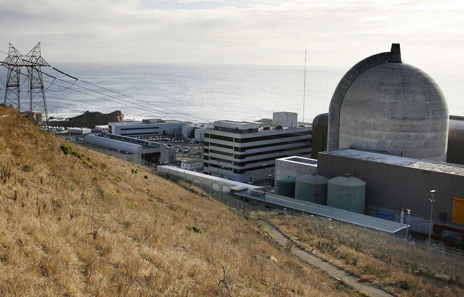 This Nov. 3, 2008, file photo, shows one of Pacific Gas and Electric's Diablo Canyon Power Plant's nuclear reactors in Avila Beach on California's central coast. Photo: Michael Mariant, Associated Press