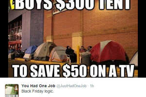 Black Friday memes mock shoppers - Photo