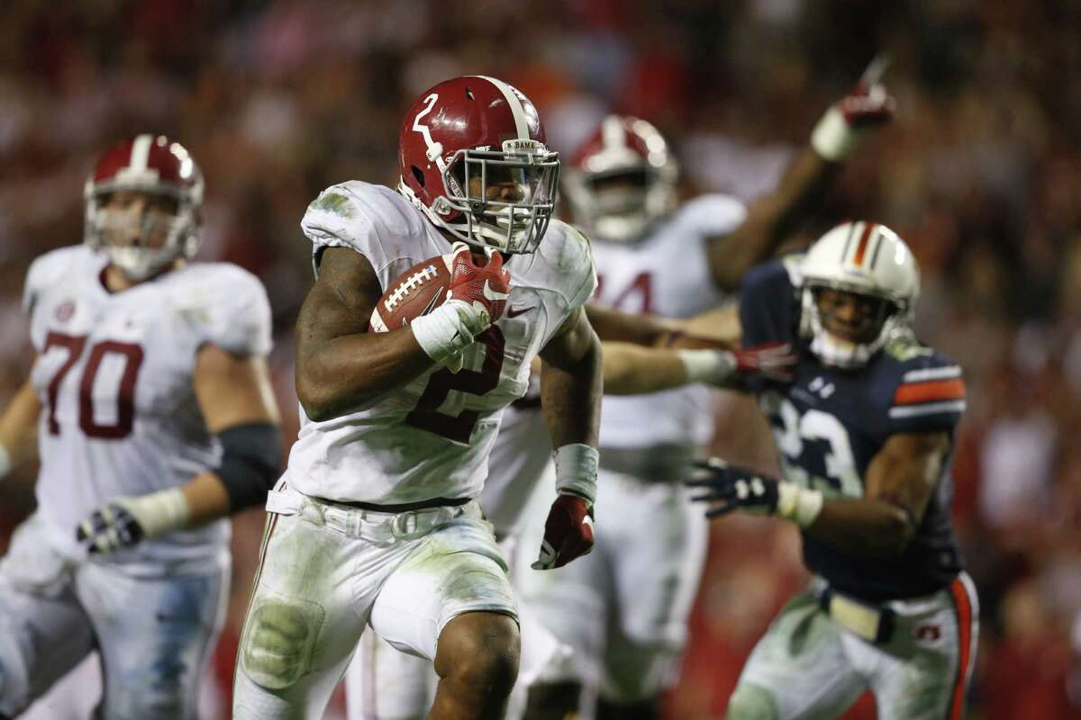 2.Alabama (11-1) What's left: vs. Florida, 3 p.m. Saturday (CBS) If the Crimson Tide roll on Saturday - and they're 17-point favorites - they'll be in the playoff. A loss would cause celebration throughout most of the SEC-weary nation as that would mean the SEC would be shut out of the College Football Playoff.