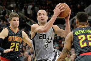 Spurs blow Hawks out, 108-88 - Photo