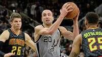 Spurs blow Hawks out, 108-88 - Photo