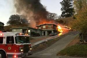 Muscle car explosion sets off Novato house fire - Photo