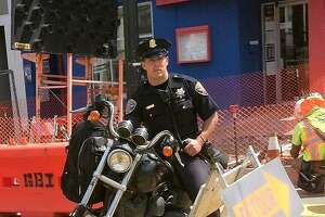 S.F.'s 'Hot Cop of the Castro' charged with 2 felonies in hit-run - Photo