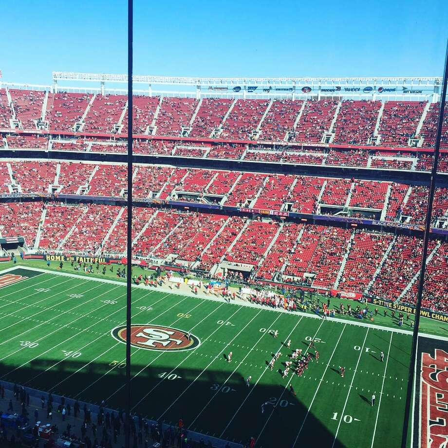 The half-empty stands at Levi's Stadium after kickoff of the 49ers game against the Cardinals in November, 2015. Photo: Ann Killion, The Chronicle