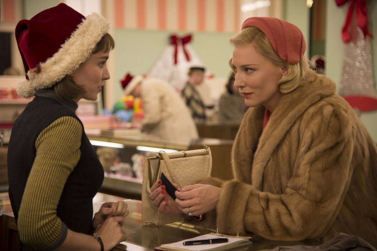 Cate Blanchett and Rooney Mara in Carol. (Wilson Webb/The Weinstein Company)