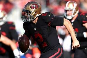 Short of sticks: 49ers' Gabbert has had tentative 3rd-down approach - Photo