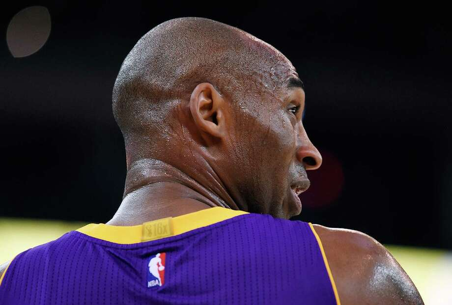 Kobe BryantOn Sunday, Bryant announced he would retire after this season. He's had a brilliant career, but it's tough to watch him right now. He ranks dead last in the NBA in field goal percentage and 3-point percentage, yet he leads the Lakers in shots attempted. Photo: Thearon W. Henderson, Getty Images / 2015 Getty Images
